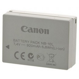 Battery pack Canon NB-10L,...
