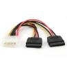 Cable Serial ATAx2   15 cm,...