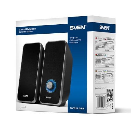 "Speakers SVEN ""325"" Black,..."